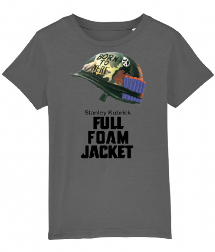 Full Metal Jacket Nerf Wars Parody Kids T Shirt